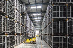 gestión almacén carretillas