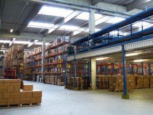 Actividades y funciones de un almacén